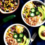 Cheap & healthy meal prep idea: much better than chipotle diy chicken burrito bowls