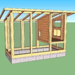 Diy wichita cabin chicken house