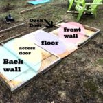 Steps to make a duck house - the cape coop