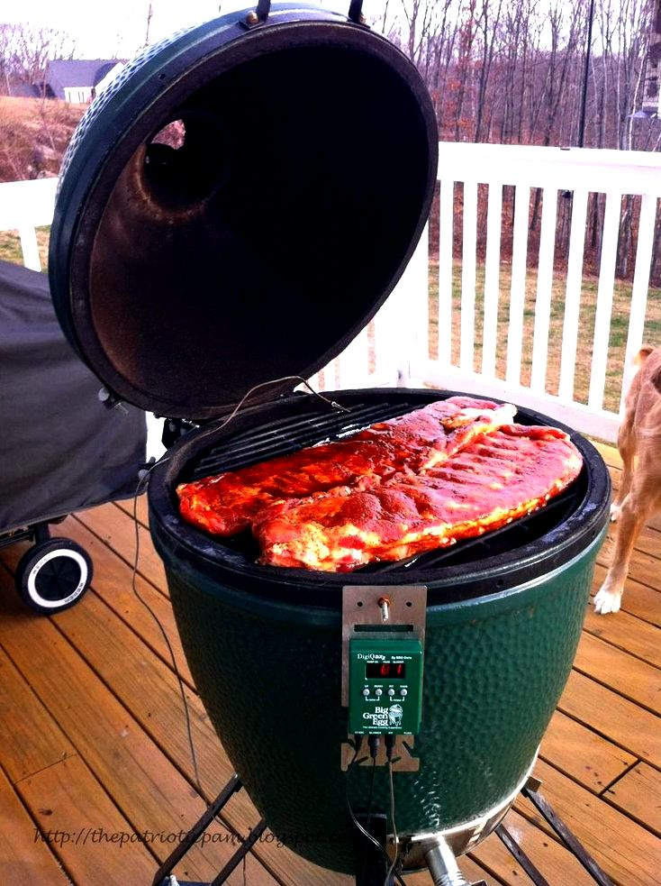 A beginner's help guide to kamado cooking (big egg-style) on a tight budget it, until it may