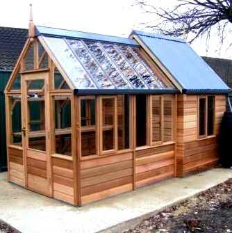 Chicken house and green house construction The coop is how they