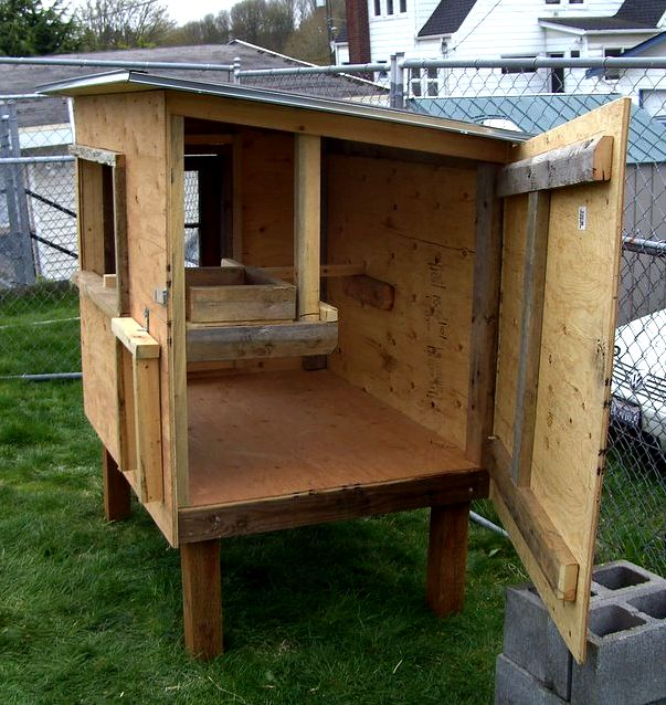 Easy chicken house plans cage that