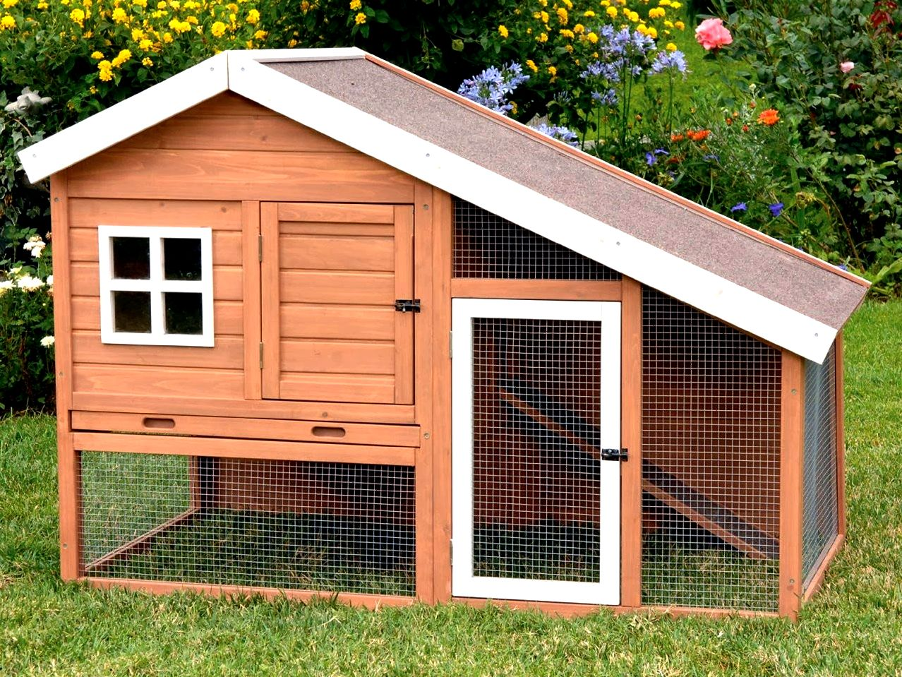 Chicken house plans Gable Chicken House Plans