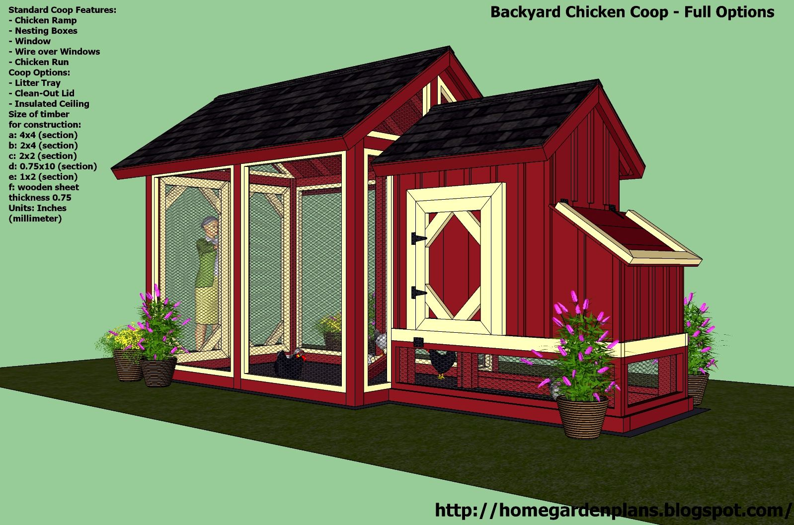 My chicken house strategy - fundamental chicken house provisions My Chicken House Strategy